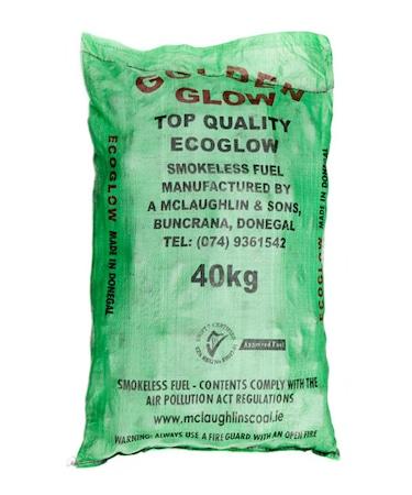 Eco Glow Coal Golden Glow, top quality smokeless coal for sale