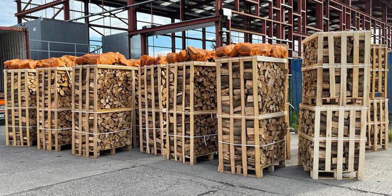 Kiln dried firewood logs - Finglas Fuels